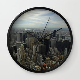 CityScape: NYC Wall Clock
