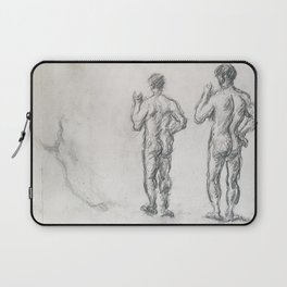 Standing Male Bather; Puget's Atlas Laptop Sleeve