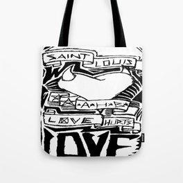 Love Hurts Tote Bag