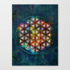 The Flower of Life Symbol Canvas Print
