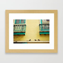 The Three in Color Framed Art Print