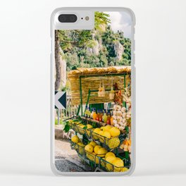 Amalfi Coast Drive XV Clear iPhone Case