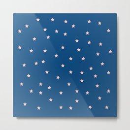 Stars in the Blue Sky Metal Print