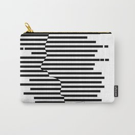 Creative Stripes Shocked Artwork Carry-All Pouch