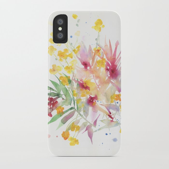fiori I iPhone Case