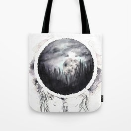Misty Dreams Tote Bag