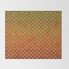 Pineapple Mania Texture Throw Blanket