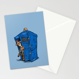 It's B-I-Double g-ER on the Inside Stationery Cards