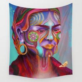 Respira Lucha Wall Tapestry