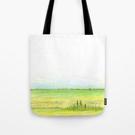 Green meadow Tote Bag