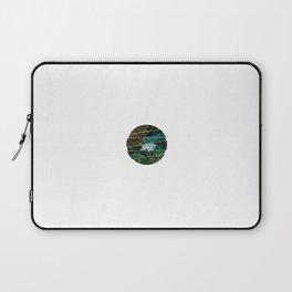 Subtly Flourishing - Circle Laptop Sleeve