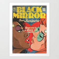 San Junipero (Black Mirror) Art Print