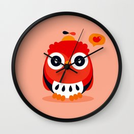 Owlet Wall Clock