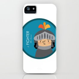 A Fighter like Jeanne d'Arc iPhone Case