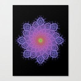 Fractal Mandala 1 Canvas Print