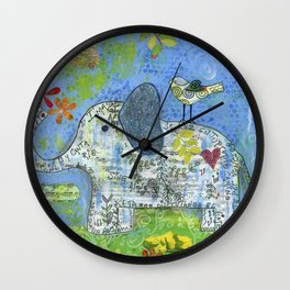 Always Here Wall Clock