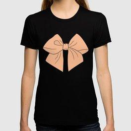 Peachy Keen Vector Bow T-shirt
