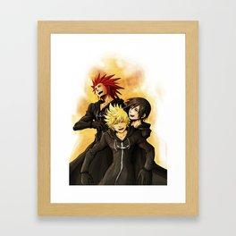 Kh friendship Framed Art Print