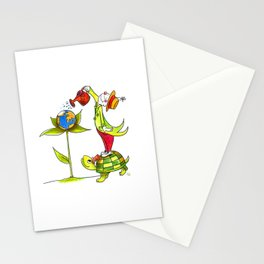 Love the planet Stationery Cards