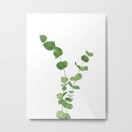 Eucalyptus Leaves Dream #1 #foliage #decor #art #society6 Metal Print