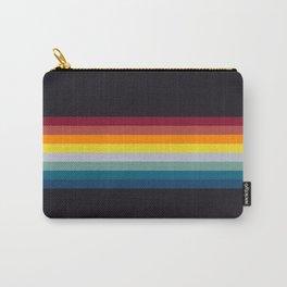 Retro Rainbow Carry-All Pouch
