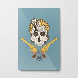 Do ya Punk? Metal Print