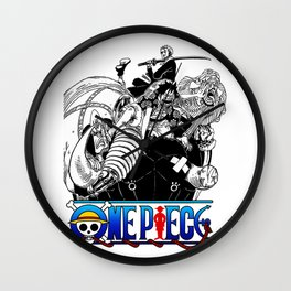 OnePiece Characters Wall Clock
