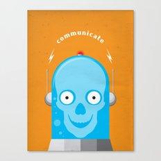 Communicate Canvas Print