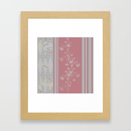 Abstract Wallpaper, stripes Framed Art Print