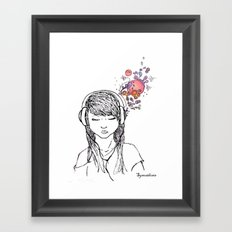 Visualizing Framed Art Print