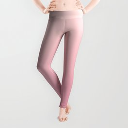ROSE PETALS - Minimal Plain Soft Mood Color Blend Prints Leggings