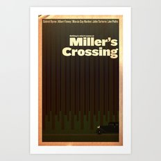 Film Friday No. 3, Miller's Crossing Art Print