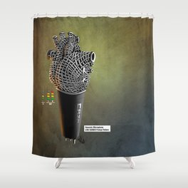 CRZN Dynamic Microphone - 003 Shower Curtain