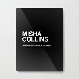 Misha Collins Metal Print