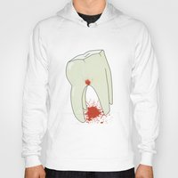 tooth Hoodies featuring Tooth by Slemdawg Hundredaire