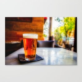 Lager Canvas Print