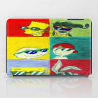 90s iPad Cases featuring 90s Cool Kids by Artistic