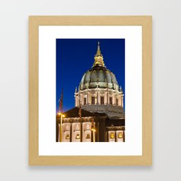 City Hall SF Framed Art Print