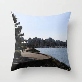 Seawall 1 Throw Pillow