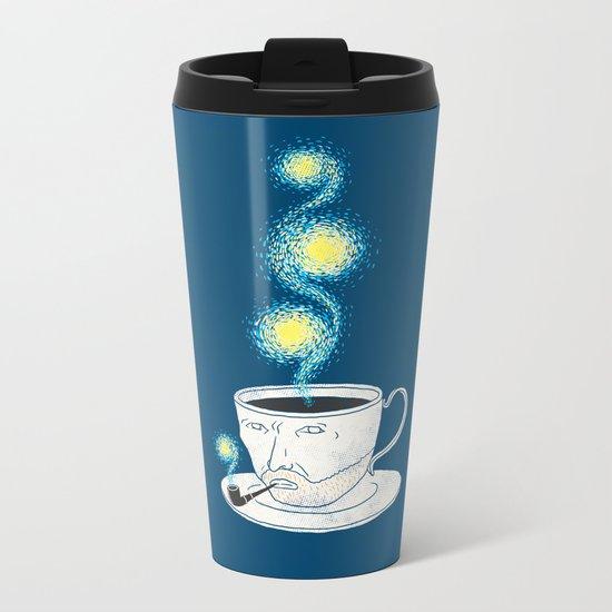 Starry starry coffee Metal Travel Mug