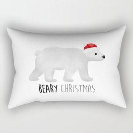 Beary Christmas | Polar Bear Rectangular Pillow