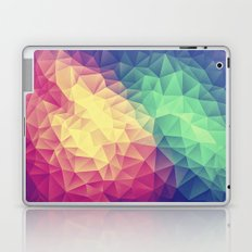 Abstract Polygon Multi Color Cubizm Painting (low poly) Laptop & iPad Skin
