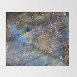 LABRADORITE 1 Throw Blanket