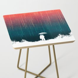Meteoric rainfall Side Table
