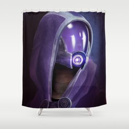 Mass Effect: Tali'Zorah vas Normandy Shower Curtain