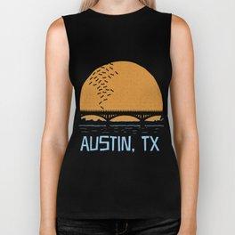 Austin Texas Bat Bridge Biker Tank