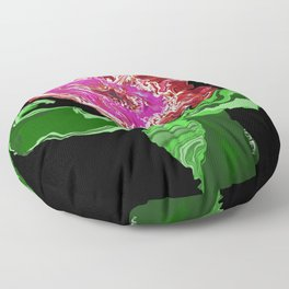 Strong Flower, 2  Floor Pillow