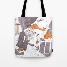 Where is my mind? Tote Bag