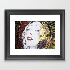 Porcelain Liberty Framed Art Print