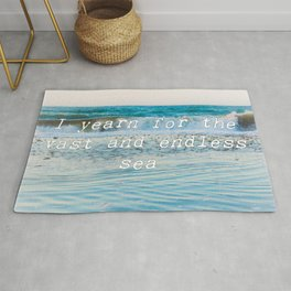 I Yearn For The Sea Rug